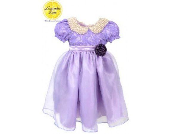 Vestido da Princesa Sofia - Infantil