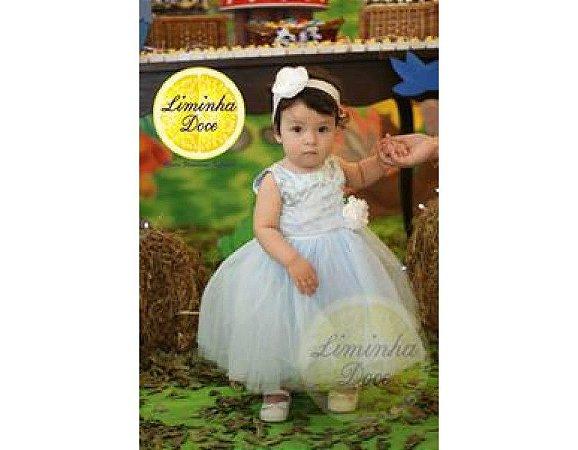 Vestido Tema Princess - Infantil