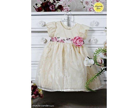 Vestido para Festa Amarelo - Infantil