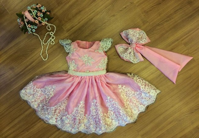 Vestido de Festa Bosque Encantado - Infantil
