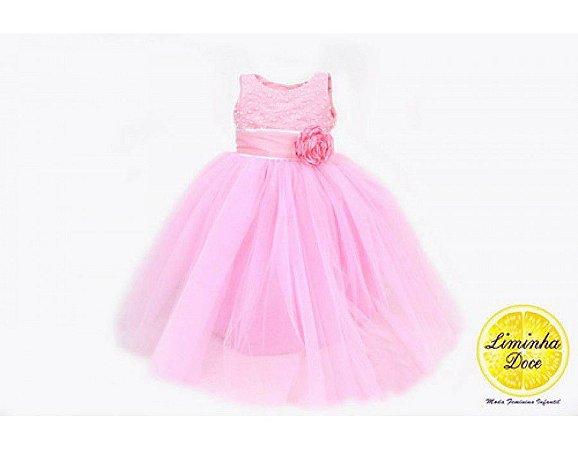 Vestido para Festa Modelo Princess - Infantil
