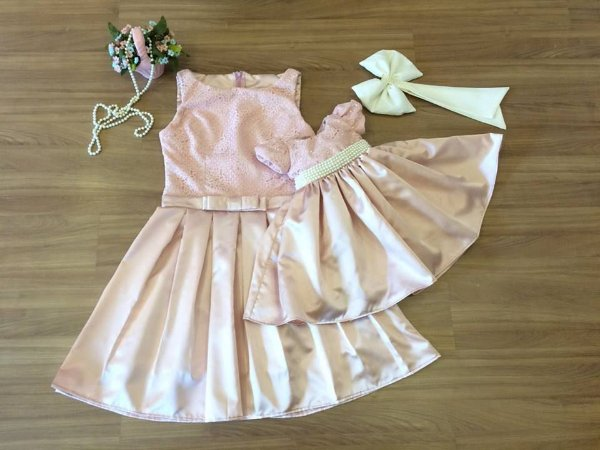 Vestido de Prega - Mãe e FIlha