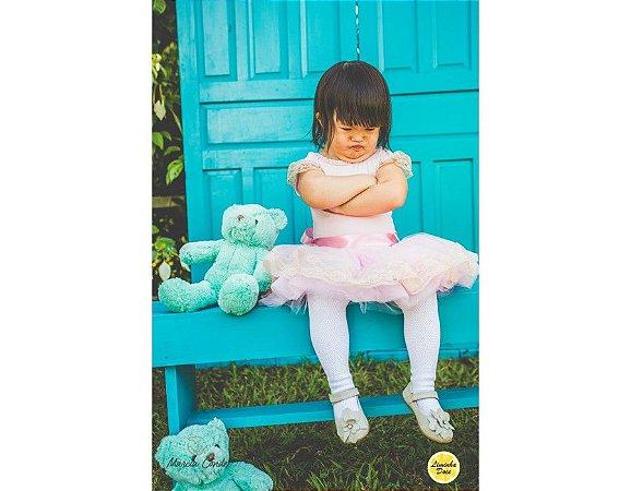 Vestido com Tema da Bailarina - Infantil