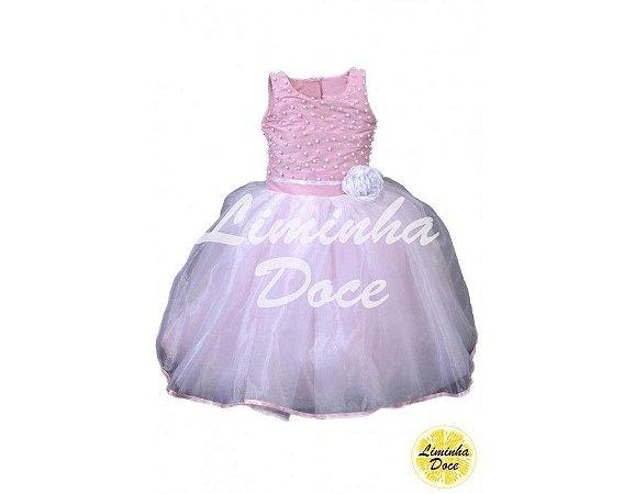 Vestido de Daminha de Luxo - Infantil