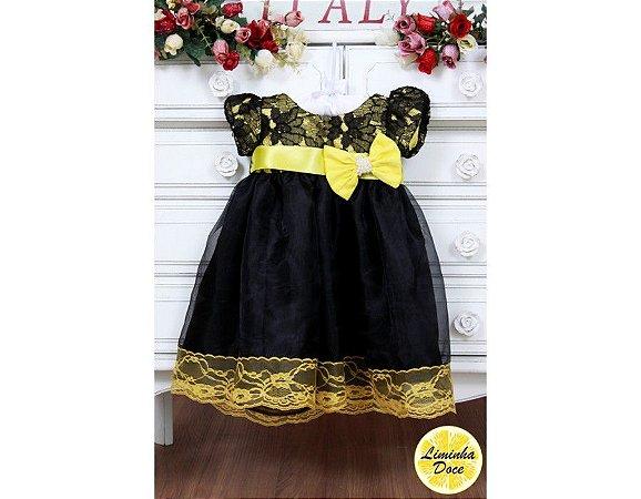 Vestido da Abelhinha de Luxo - Infantil