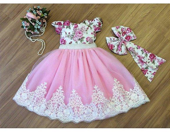 Vestido do Tema Jardim Encantado - Infantil