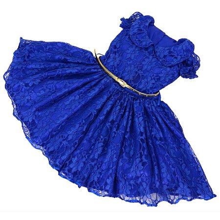Vestido de Luxo Tema Princess - Infantil