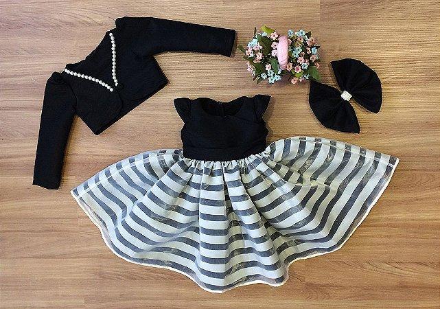 Vestido de Formatura com Bolero - Infantil
