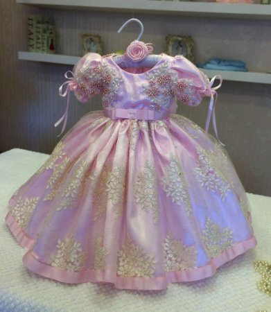 Vestido Princesa de Luxo - Infantil
