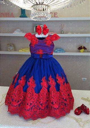 Vestido de Luxo da Galinha Pintadinha - Infantil