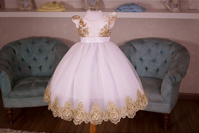 Vestido para o tema Festa Paris - Infantil
