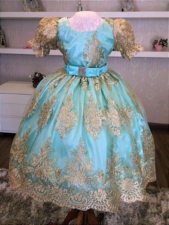 Vestido Para Festa da Realeza