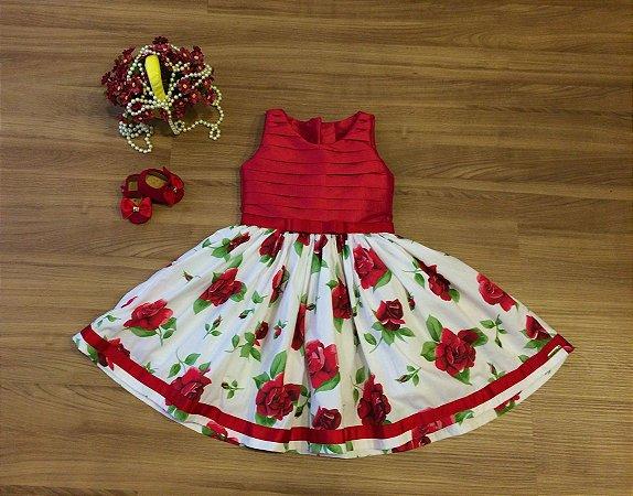 Vestido para Festa Natalina - Infantil