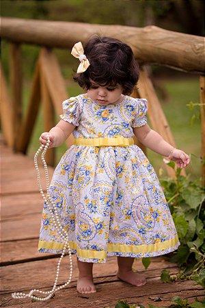 Vestido Floral Infantil - Liminha Doce - Vestidos de Festa Infantis ... ddb27a04b83