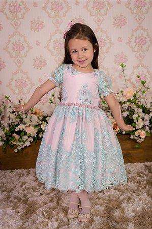 Vestido Realeza - Infantil