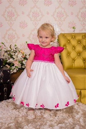 Vestido Pink para Meninas - Infantil