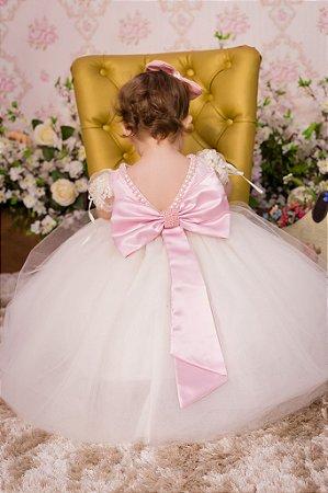 Vestido de Luxo para festa - infantil