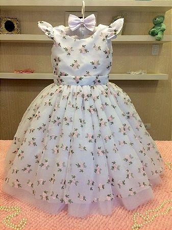 Vestido para Daminhas das Rosas - Infantil