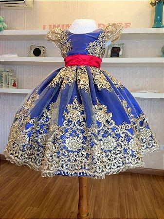 Vestido do Tema Minnie Realeza - Infantil