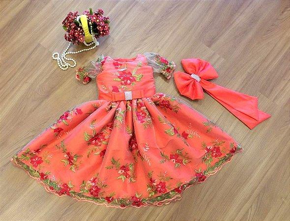 Vestido Temático Moana - Infantil