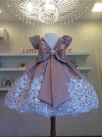 Vestido de Daminha de Honra Rose - Infantil