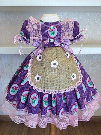 Vestido para Festa Junina - Infantil