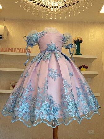 Vestido de Festa Liminha Doce - Infantil