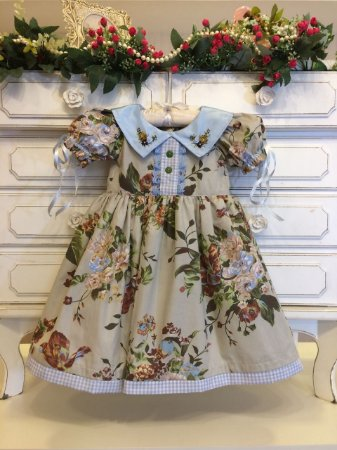 Vestido Fofura da Vovo catarina - Infantil
