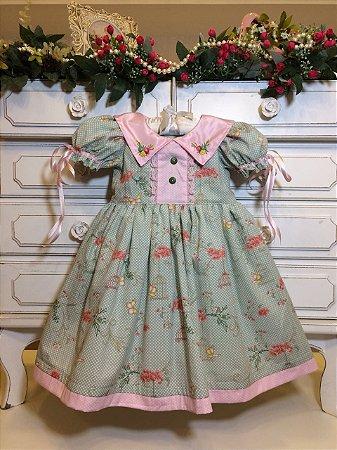 Vestido Fofura da Vovo Antonia - Infantil