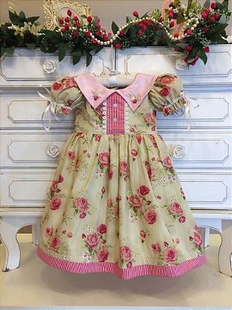 Vestido Fofura da Vovo Francisca - Infantil
