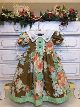 Vestido Fofura da Vovo Lurdes - Infantil