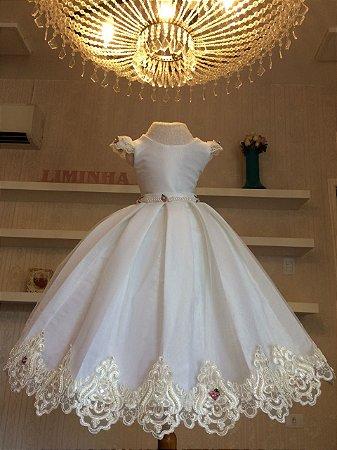 Vestido de Princesa para Daminha - Infantil