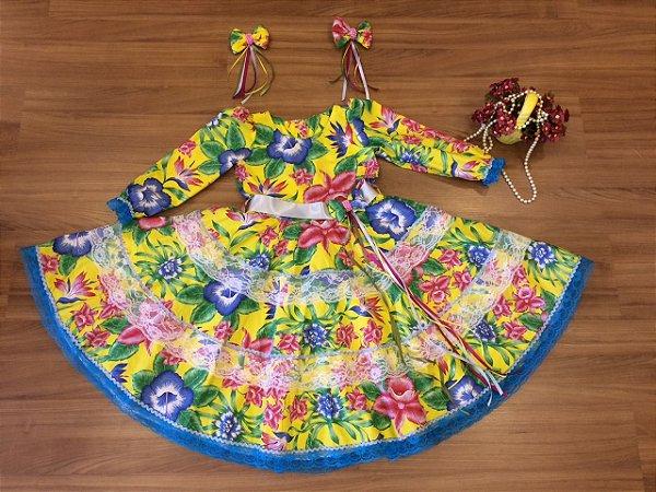 Vestido de Quadrilha - Infantil