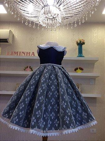 Vestido da Princesinha Maria Clara - Infantil
