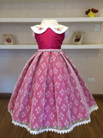 Vestido da Princesinha Livia - Infantil