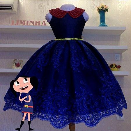 Vestido para Tema Festa da Luna - Infantil