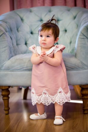 Vestido de Festa Trapezio - Infantil