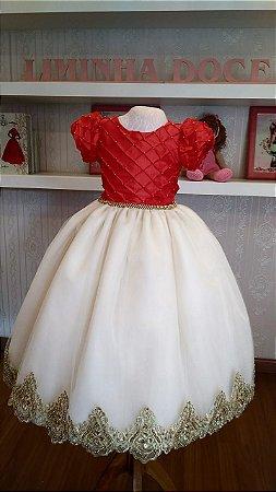 Vestido de Formatura Pre Escola - Infantil