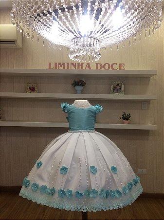 Vestido para Tema Jardim das Fadas - Infantil