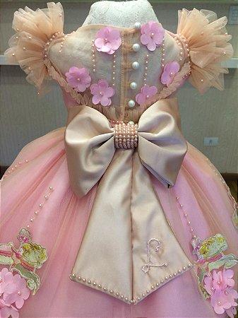 Vestido para Tema Carrocel - Infantil