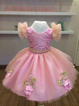 Vestido para Tema Carrossel - Infantil