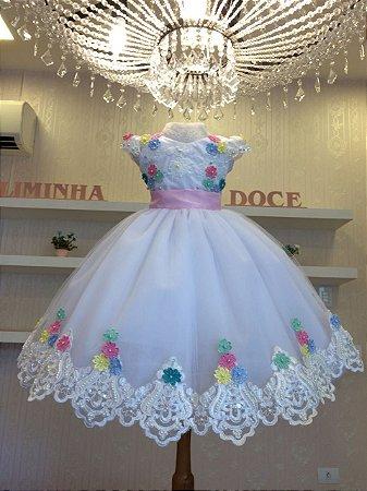 Vestido de Festa Bosque Encantado-Infantil