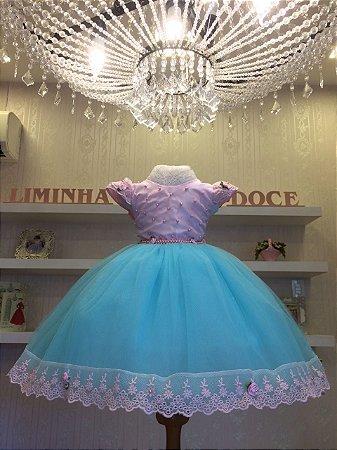 Vestido Infantil Tiffany -Infantil