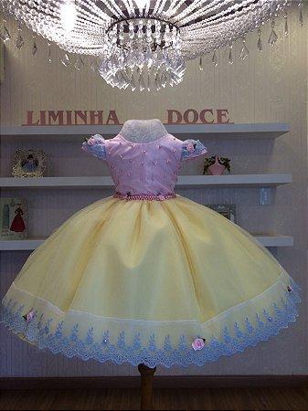 Vestido Circo Rosa -Infantil