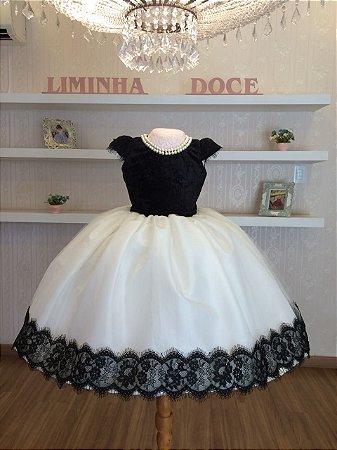 Vestido de Festa Joalheria-Infantil