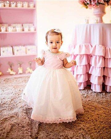 Vestido Ursas Princesas -Vestido Infantil
