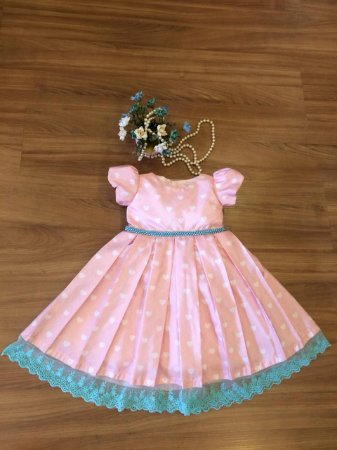 Vestido Chuva de Amor  -Vestido Infantil
