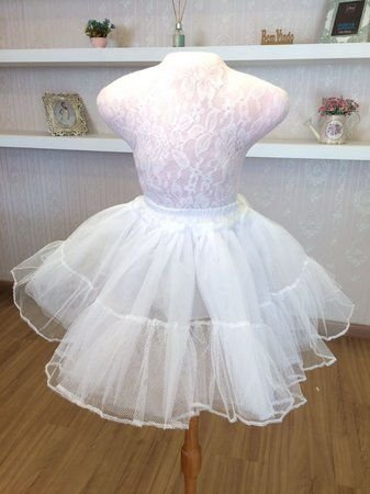 Anágua Para Daminha - Vestido Infantil