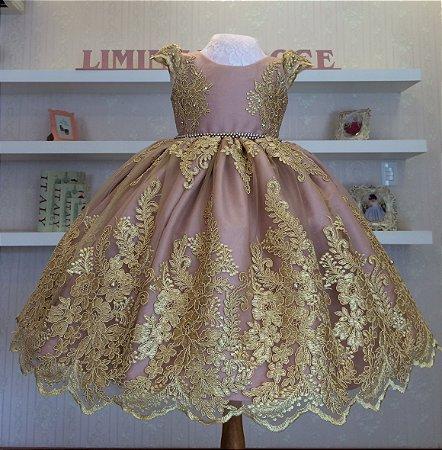 Vestido De Festa Realeza-vestidos de festa infantil