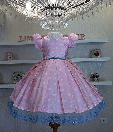Vestido Chuva de Amor -vestidos de temas infantil